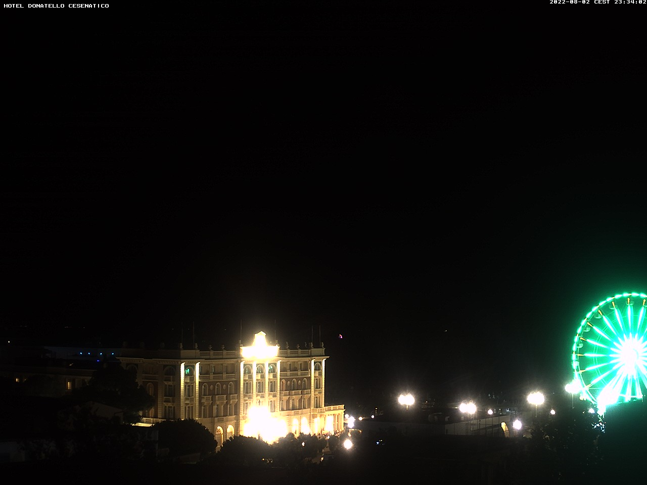 Webcam Vista su Cesenatico dall\'Hotel Donatello live « 3B Meteo